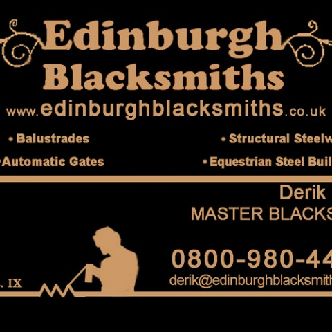 Blacksmiths Services Edinburgh